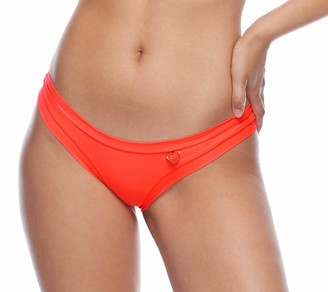 Body Glove Women's Audrey Solid Low Rise Bikini Bottom Swimsuit