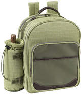 Picnic at Ascot Hamptons Picnic Backpack for Two - Olive Tweed Backpacks