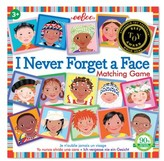 Eeboo Toddler Never Forget A Face Matching Game
