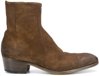 Silvano Sassetti suede ankle boots