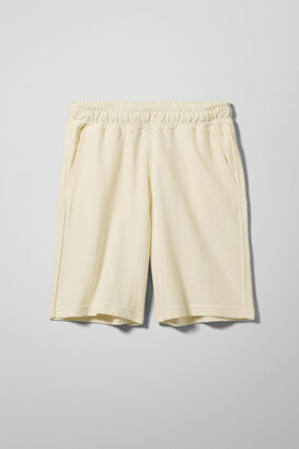 Weekday Cole Jersey Shorts - White