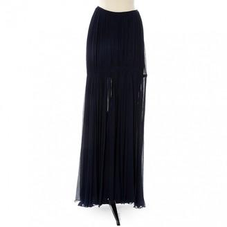 Chloé Navy Silk Skirts