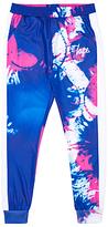 Hype Girls' Splash Track Trousers, Blue