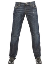 Dolce & Gabbana 21cm Wrinkled Effect 14 Classic Jeans