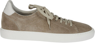 Brunello Cucinelli Logo Panelled Sneakers