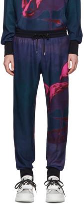 Paul Smith SSENSE Exclusive Multicolor Pauls Photo Flamingo Jogger Lounge Pants