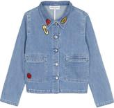 Sonia By Sonia Rykiel Badges denim jacket 4-14 years