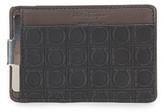 Salvatore Ferragamo Gamma Leather Money Clip