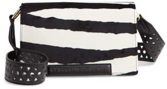 Stella McCartney Small Flap Faux Leather Shoulder Bag