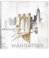 iCanvas 'Brooklyn Bridge' Giclee Print Canvas Art