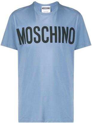 Moschino logo crew neck T-shirt