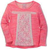 Design History Lace Pullover (Toddler & Little Girls)