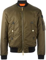 DSQUARED2 'Military' bomber jacket - men - Polyamide/Polyester/Polyurethane - 50