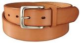 Men Italian Vachetta Leather Belt