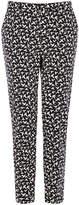 Oasis Mono Bird Print Trouser