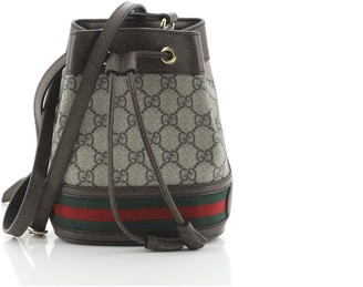 Gucci Ophidia Bucket Bag GG Coated Canvas Mini