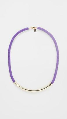 Maison Monik Ghana Luxe Violet Necklace
