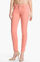 Paige Denim 'Skyline' Skinny Stretch Ankle Jeans (Flamingo)
