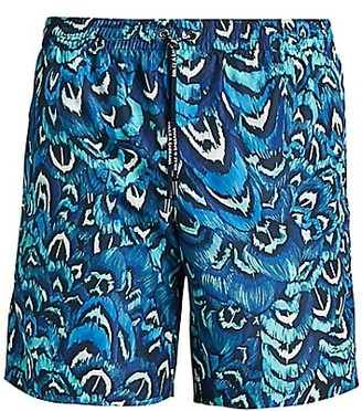 Dolce & Gabbana Printed Swim Trunks