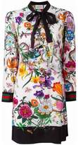 Gucci floral snake print dress