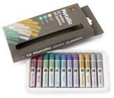 Educational Colours Jumbo Oil Pastels Metallic 12 pack