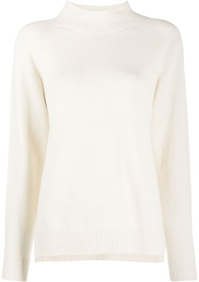 Peserico Stand-Up Collar Jumper
