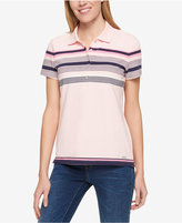 Tommy Hilfiger Short-Sleeve Striped Polo, Only at Macy's