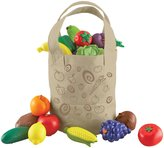 Learning Resources New Sprouts Fresh Picked Fruits & Veggie Tote