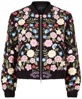 Needle & Thread Flower Embroidered Bomber Jacket