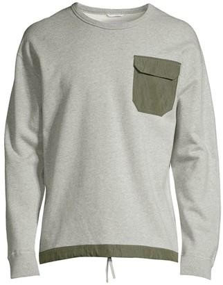 Reigning Champ Patch Pocket Crewneck Sweater