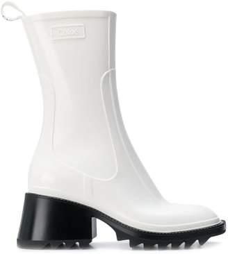 Chloé Betty chunky platform boots