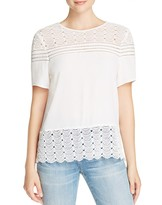 Daniel Rainn Lace Top
