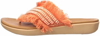 FitFlop Women's AVA CRYSTALSTONE FRINGY Sandal