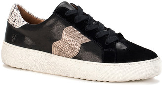 Frye Webster Wave Low Lace Leather/Suede Sneaker