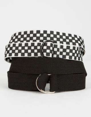Full Tilt 2 Pack Checker & Solid Web Belts