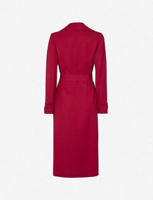Reiss Lianna belted woven coat