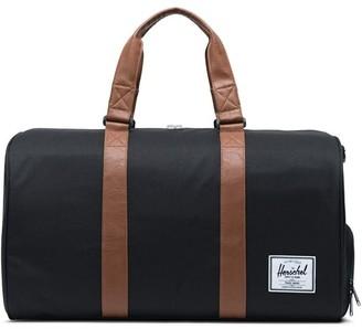 Herschel Novel Duffle Bag Black/Tan Synthetic Leather