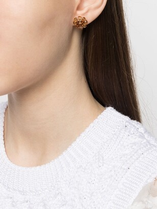 Simone Rocha Mismatched Floral Bead Earrings