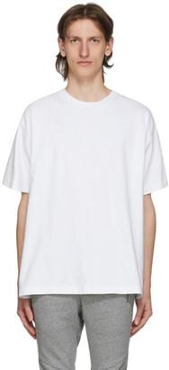 John Elliott White University T-Shirt