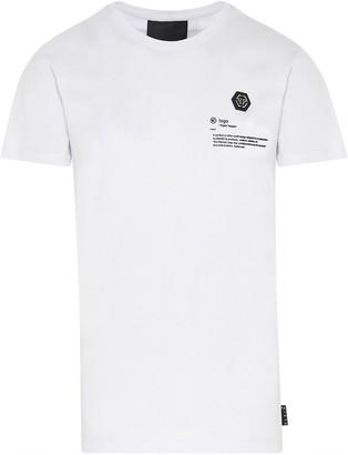 Philipp Plein Gothic Embellished Logo T-Shirt