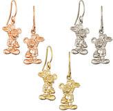 Disney Mickey Mouse Earrings - 18K - Diamond