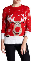 Cotton Emporium Light Up Rudolph Sweater