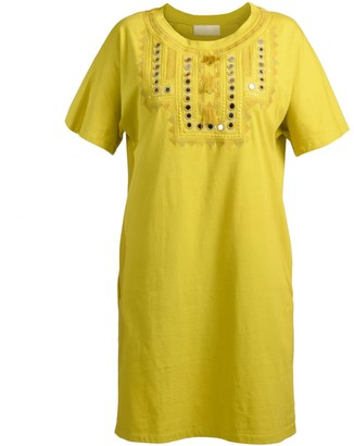 Virginia Dress Chartreuse