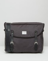 Sandqvist Erik Cordura Messenger Bag In Grey