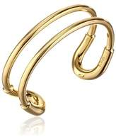 "Giles & Brother 10k Skinny ""Cortina"" Cuff Bracelet"