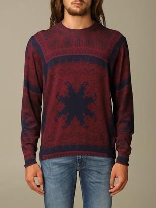 Etro Sweater Paisley Wool Sweater