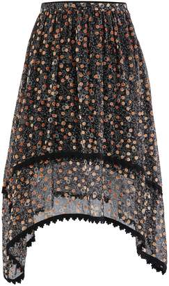 See by Chloe Silk blend skirt