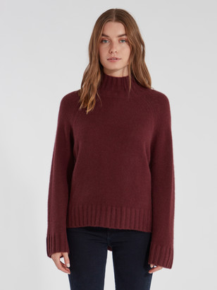 360 Cashmere Margaret Turtleneck Cashmere Sweater