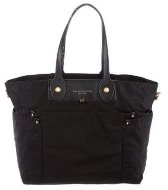 Marc by Marc Jacobs Leather-Trimmed Nylon Tote