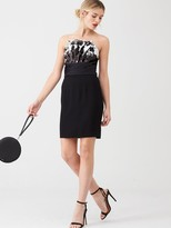 Very Pleated Reversible Sequin Dress - Black
